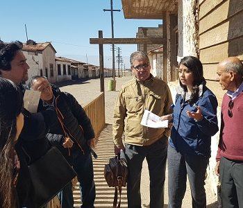 Humberstone y Santa Laura, primer sitio Patrimonio Mundial de los 6 que hay en Chile, en avanzar en un Plan de Riesgo de Desastres