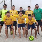 Ocho equipos disputan torneo fútbol playa que busca rescatar nuevos talentos para integrar al equipo oficial que viajará a Paraguay