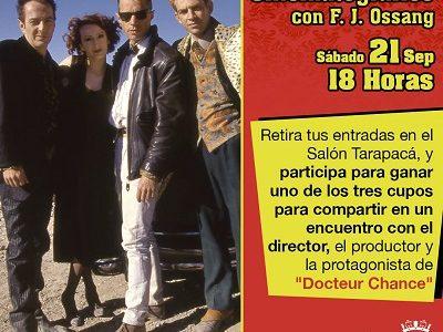 Después de 23 años, cineasta francés vuelve a Iquique para proyectar película que grabó en nuestra ciudad en esa fecha