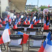 Agrupación de familiares de ejecutados y desaparecidos, convocó a emotivo homenaje a las víctimas de la dictadura