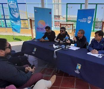 Programa «Cine en tu barrio» despliega Municipalidad en sectores poblaciones exhibiendo documentales y cortos cinematográficos