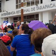 Porque apoyan las «justas demandas sociales», funcionarios del Gobierno regional se plegaron al paro general de este martes