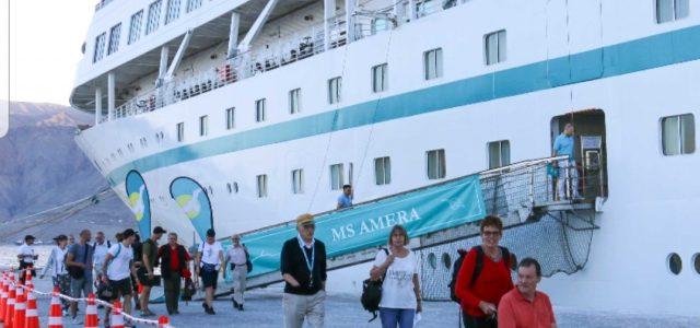 Puerto de Iquique recibió el cuarto crucero de la temporada estival