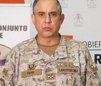 General Guillermo Paiva declinó referirse al recurso de protección en su contra, presentado por la comunidad de Pozo Almonte.