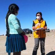 Desde el mismo campamento precario, delegada regional del INDH constató crisis humanitaria en la frontera