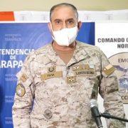 """Se enojó el general: """"No puedo permitir que un medio me diga que hay desinformación de los bandos emitidos"""""""